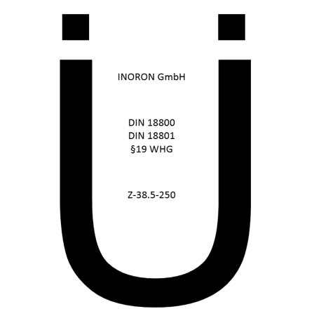 Ü-Zeichen INORON GmbH