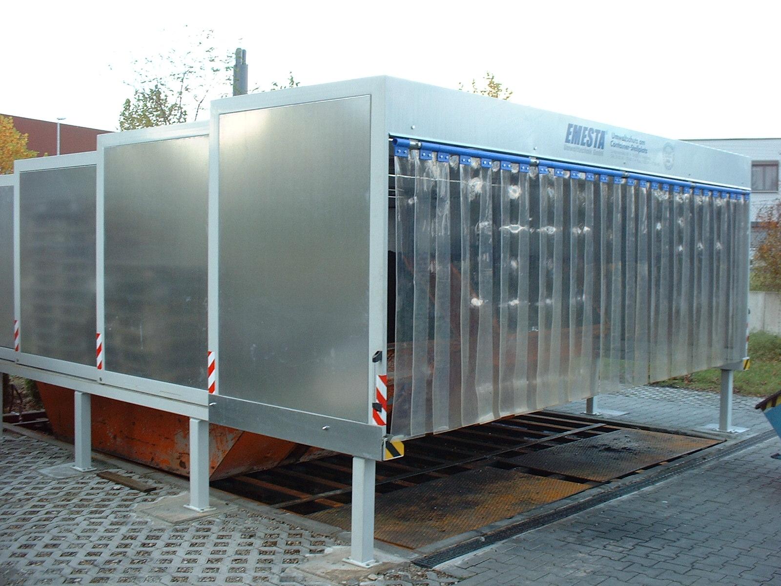 Containerstellplatz EMESTA EK10