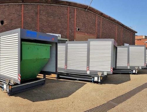 Containerstellplätze anstatt WHG-Fläche
