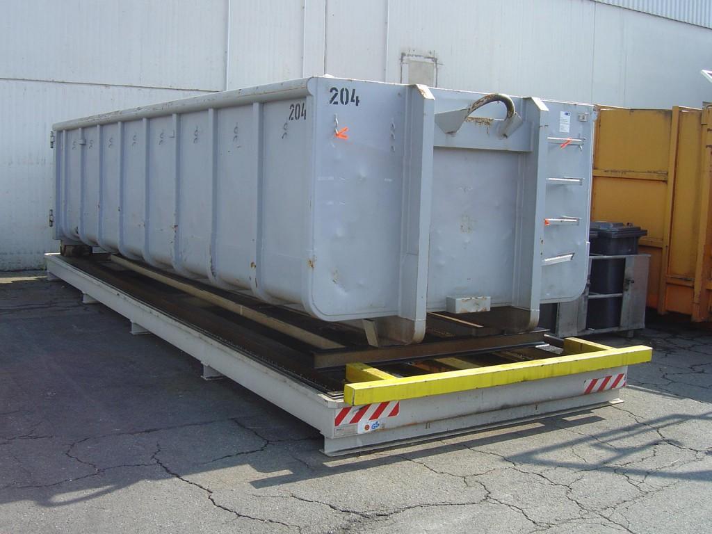 Containerstellplatz - Nur-Wannen Modell - Containerwanne