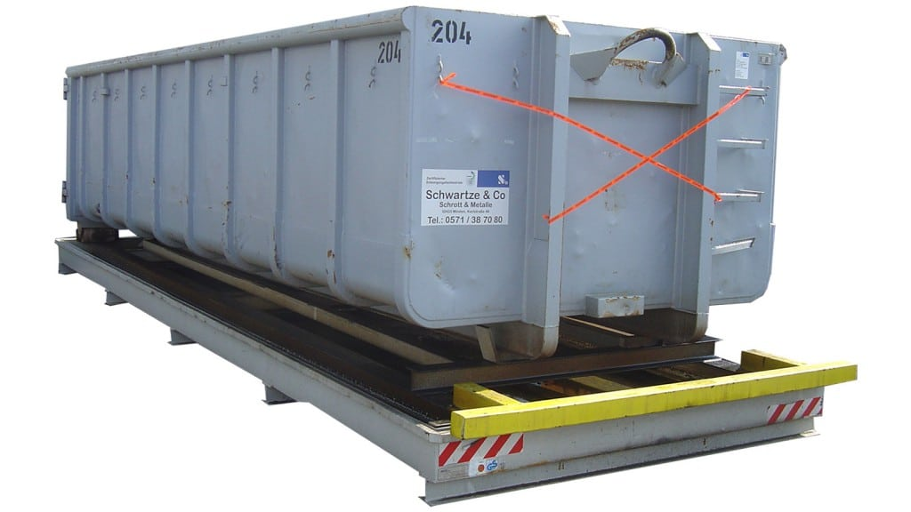 Containerwanne Abrollcontainer