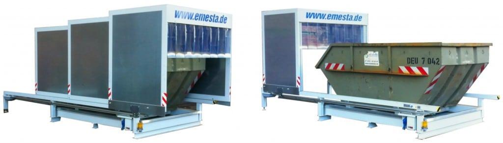 EMESTA Containerstellplatz Modell EK10