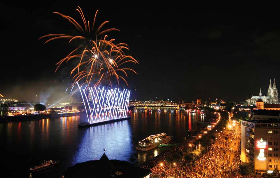 Kölner Lichter Feuerwerk