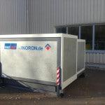 Gefahrstofflager Aufstellung im freien / außen EMEBOX geschlossen