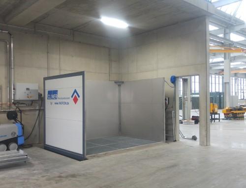 C300 – kompakter Waschplatz Industrie