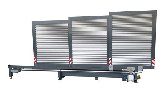 Containerstellplatz EMESTA Dach zu seitenansicht