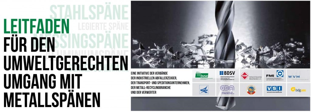 Leitfaden für den Umweltgerechten Umgang mit Metallspänen Container