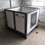 Waschanlage für Werkzeugteile in der Industrie
