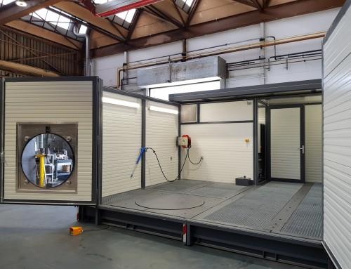 Mobiler Waschplatz mit integriertem Ölabscheider