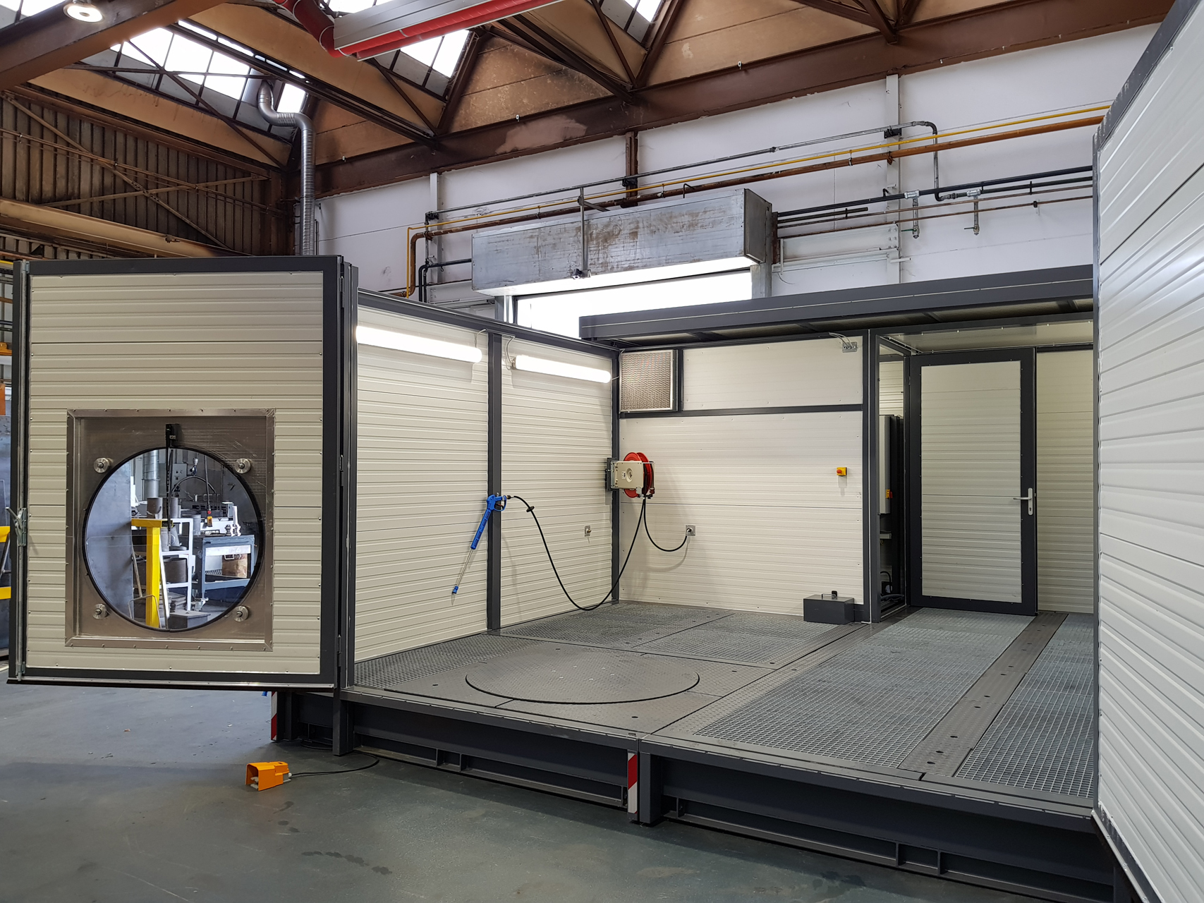 mobiler waschplatz mit integriertem labscheider inoron. Black Bedroom Furniture Sets. Home Design Ideas