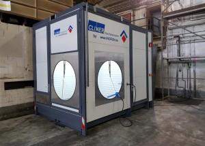 Mobiler Waschplatz in Containerbauweise